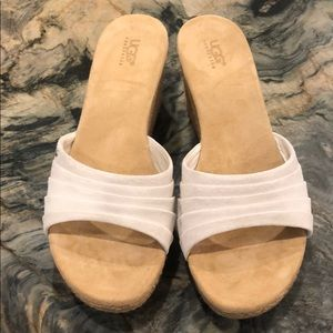 UGGs slide wedge sandals